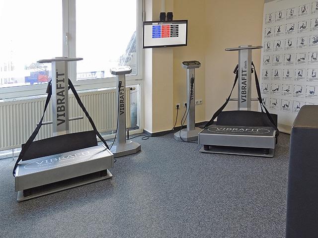 FitnessPark Limburg Vibrafit und Virtuelles Vibrafit