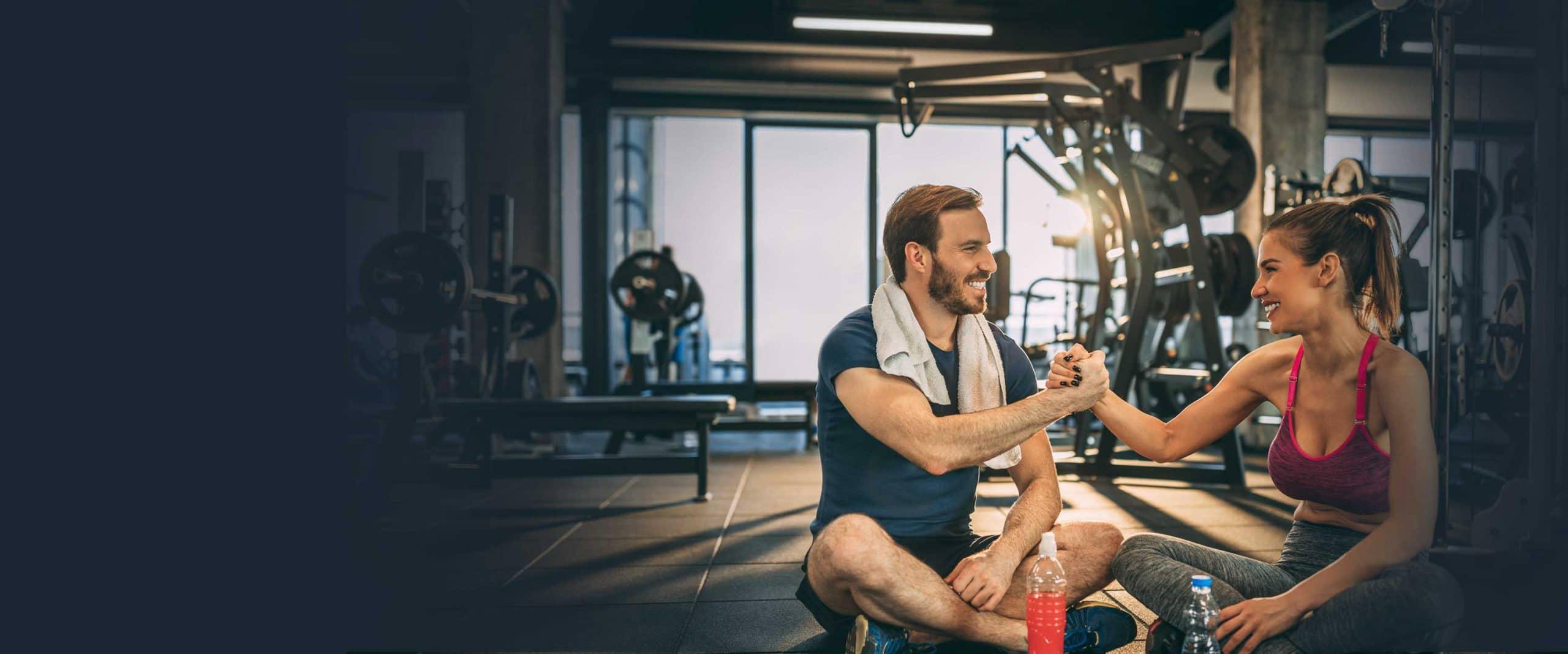 6 Monate gratis Trainieren Angebot Fitnesspark Limburg
